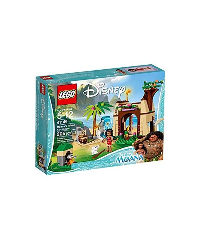 L'aventure De Sur Jeu Vaiana Disney Princess Lego 41149 L'île SzGLUVpqM