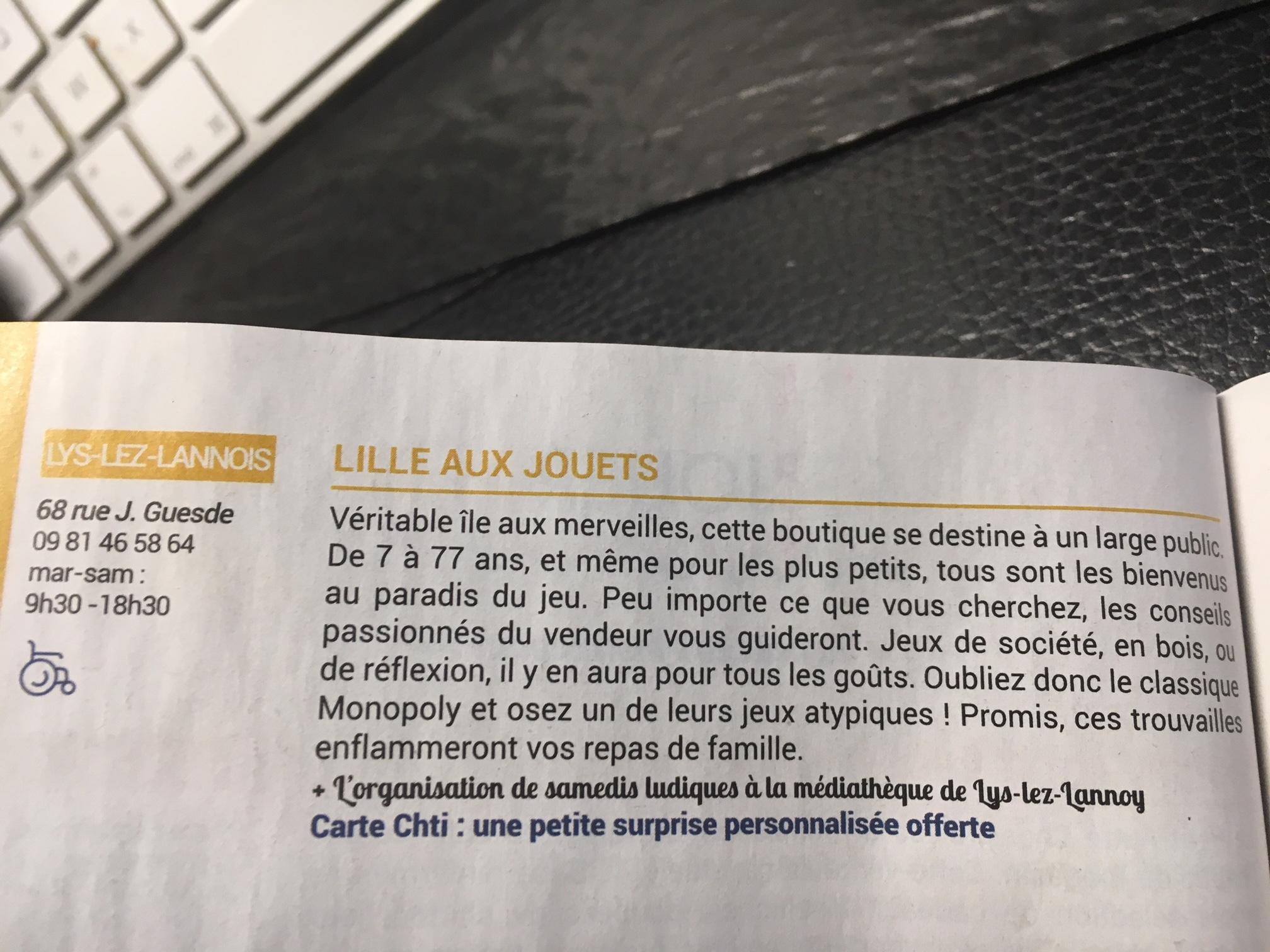 Avis du Chti 2019